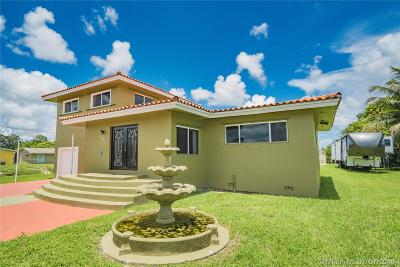 Miami Gardens Single Family Home For Sale: 17135 NW 19th Ave