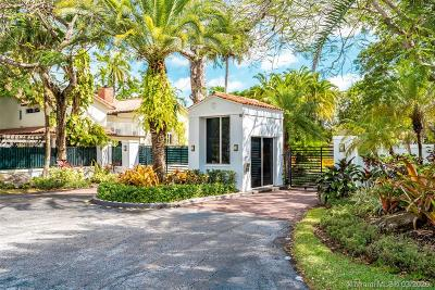 Coral Gables, South Miami Single Family Home For Sale: 6619 Mimosa Ct