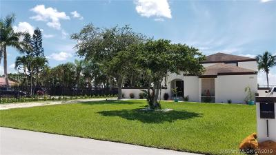 Miami Single Family Home For Sale: 15440 SW 156th Ave