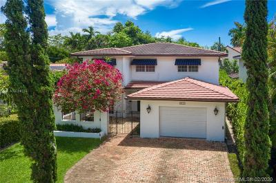 Coral Gables Single Family Home For Sale: 4111 Alhambra Cir