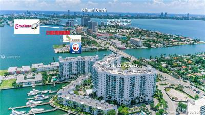 North Bay Village Condo For Sale: 7900 Harbor Island Dr #625