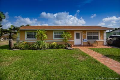 Miami Gardens Single Family Home For Sale: 2920 NW 208th Ter