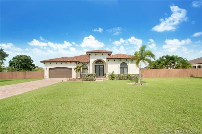 Homestead Single Family Home For Sale: 29462 SW 167th Ave