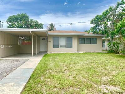 Fort Lauderdale Single Family Home For Sale: 1504 NW 9th Ave