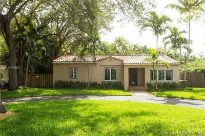 Coconut Grove FL Single Family Home For Sale: $900,000
