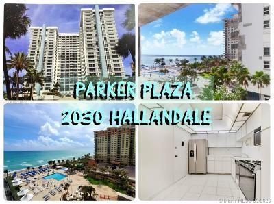 Hallandale Beach Condo For Sale: 2030 S Ocean Dr #418