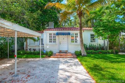 Miami Single Family Home For Sale: 2343 Secoffee Ter