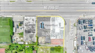 Miami Commercial For Sale: 471 NW 79th St