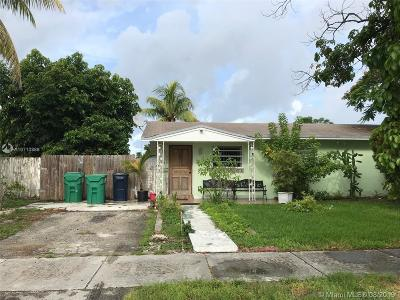Miami Single Family Home For Sale: 19901 SW 122nd Ave