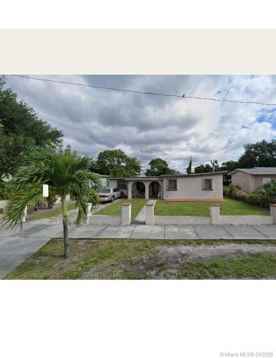 West Park Single Family Home For Sale: 4241 SW 27th St