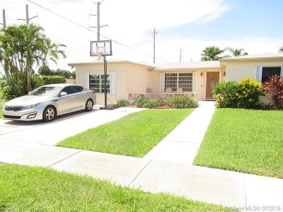 Margate Single Family Home For Sale: 7029 NW 9th Ct
