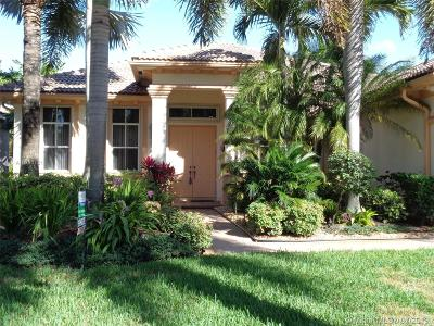 Weston Single Family Home For Sale: 2288 Quail Roost Dr