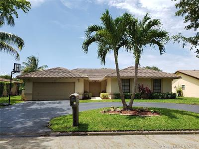 Coral Springs Single Family Home For Sale: 8348 NW 7th St