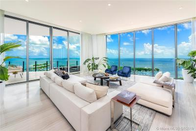 Coconut Grove FL Condo For Sale: $12,500,000