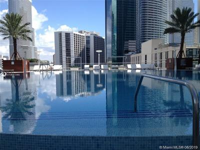 Brickell Rental For Rent: 500 Brickell Ave #1608
