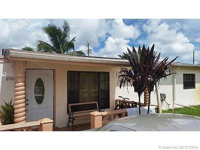 Miramar Single Family Home For Sale: 6981 SW 26th St