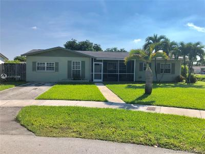 Cutler Bay Single Family Home For Sale: 18531 SW 92nd Ct
