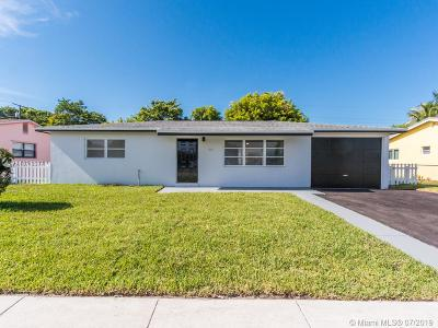 Riviera Beach Single Family Home For Sale: 507 W 29th St