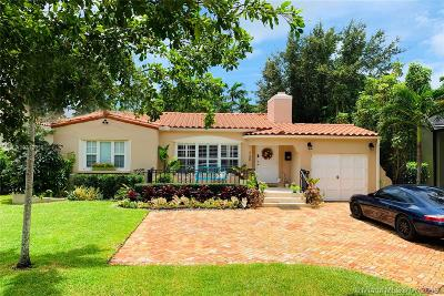 Coral Gables Single Family Home For Sale: 730 Madeira Ave