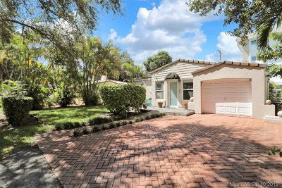 Coral Gables Single Family Home For Sale: 814 Monterey
