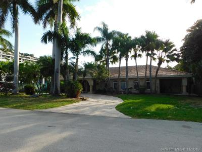 Key Biscayne Single Family Home For Sale: 323 Caribbean Rd