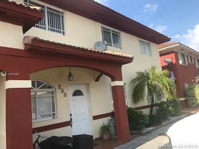 Hialeah Gardens Single Family Home Active Under Contract: 11045 W Okeechobee Rd #102