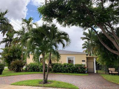 Hollywood Single Family Home For Sale: 1400 Dewey St