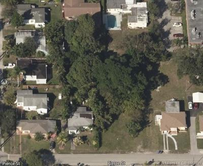 Broward County Residential Lots & Land For Sale: 2543 Pierce St