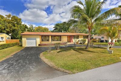 South Miami Single Family Home For Sale: 6231 SW 61st St