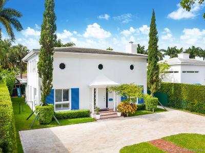 Miami Beach Single Family Home For Sale: 120 Venetian Way