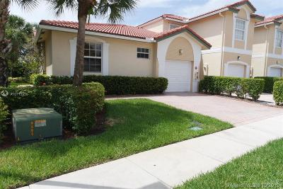 Coral Springs Single Family Home For Sale: 11715 NW 47th Dr #11715