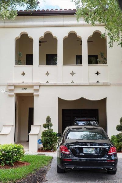 Coral Gables Single Family Home For Sale: 622 Malaga Ave