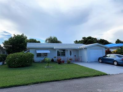 Tamarac Single Family Home For Sale: 7107 NW 68th Ave