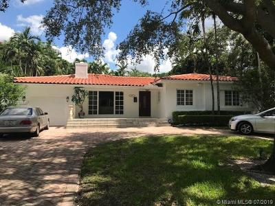 Coral Gables Single Family Home For Sale: 1241 Placetas Ave