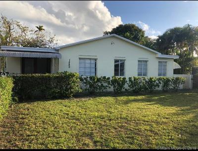 North Miami Single Family Home For Sale: 1280 NE 135th St