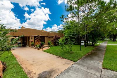 Miami Springs Single Family Home For Sale: 869 Pinecrest Dr