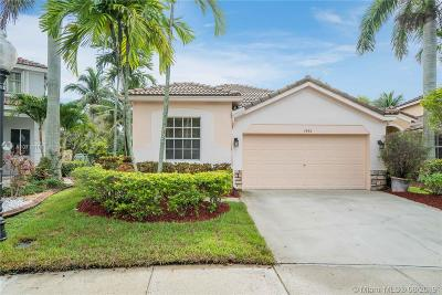 Weston Single Family Home For Sale: 1486 Zenith Way