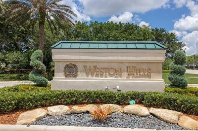 Weston Single Family Home For Sale: 3213 Huntington