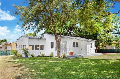 Miami Single Family Home Active Under Contract: 1590 NW 57th St