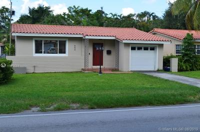 Coral Gables Single Family Home For Sale: 650 Bird Rd