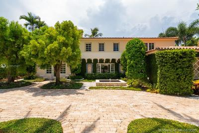 Miami Beach Single Family Home For Sale: 3190 Pine Tree Dr