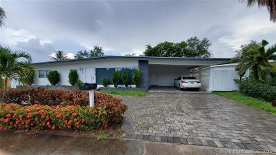 North Miami Beach Single Family Home For Sale: 18950 NE 20th Ct