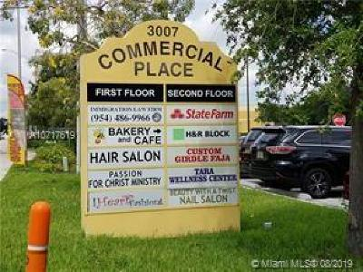 Fort Lauderdale Commercial For Sale: 3007 W Commercial Blvd #201