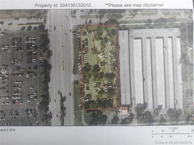 Broward County Residential Lots & Land For Sale: 5300 S State Road 7