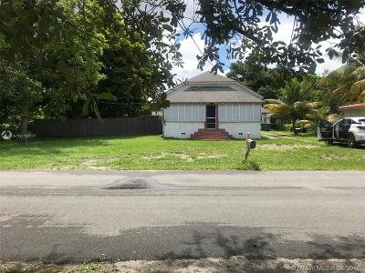 Hallandale Single Family Home For Sale: 120 SW 1st Ave