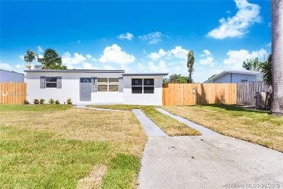 Pompano Beach Single Family Home For Sale: 2817 NE 13th Ave