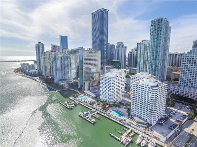 Condo/Townhouse For Sale: 825 Brickell Bay Dr #342