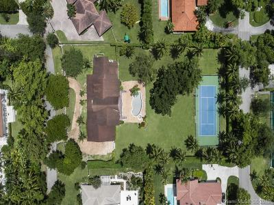 Coral Gables Single Family Home For Sale: 441 Ridge Rd