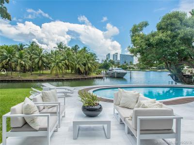 Bal Harbour, Bay Harbor Islands, Coconut Grove, Coral Gables, Hallandale, Miami, Miami Beach, North Miami Beach, Surfside Single Family Home For Sale: 4765 Lake Rd