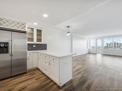Hollywood Condo/Townhouse For Sale: 3111 N Ocean Dr #712